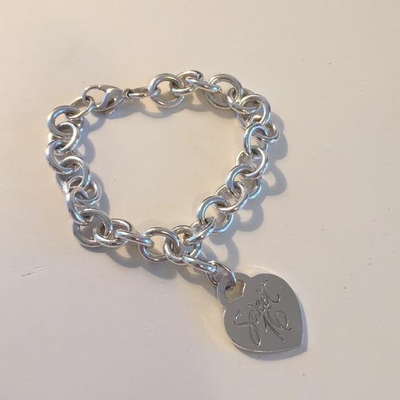 6b4babff34eec Tiffany & Co. Jewelry   Tiffany Co Sweet 16 Silver Bracelet   Poshmark